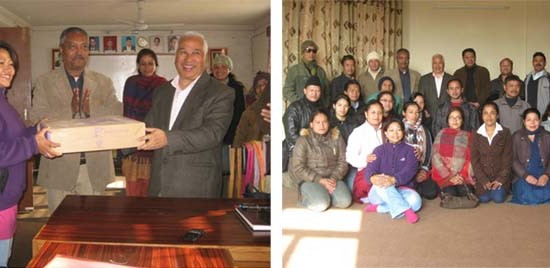 Interaction with Central Dept of NepalBhasha, T.U.