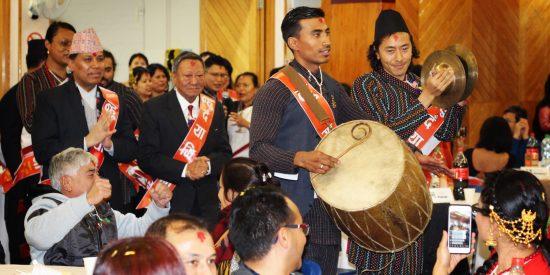 New year Nepal Samvat 1140 observed in London