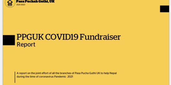 PPGUK COVID-19 Fundraiser Report